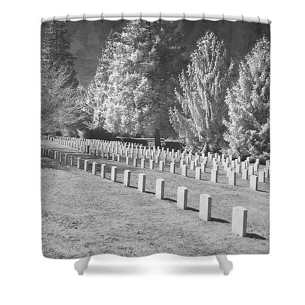 Somber Scene Shower Curtain