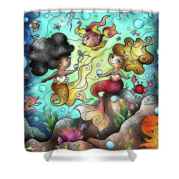 Somewhere Beyond The Sea Shower Curtain