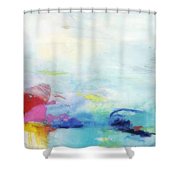 Somewhere Else Shower Curtain
