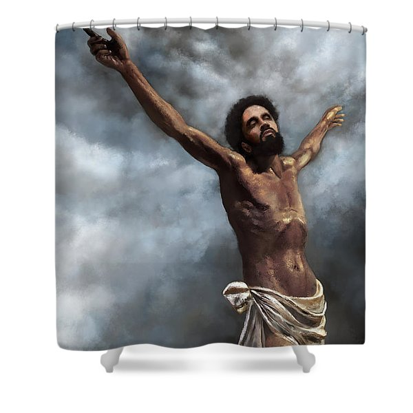 Son Of God Shower Curtain