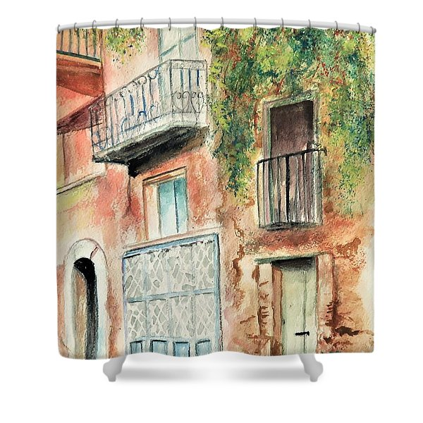 Sorrento Charm Shower Curtain