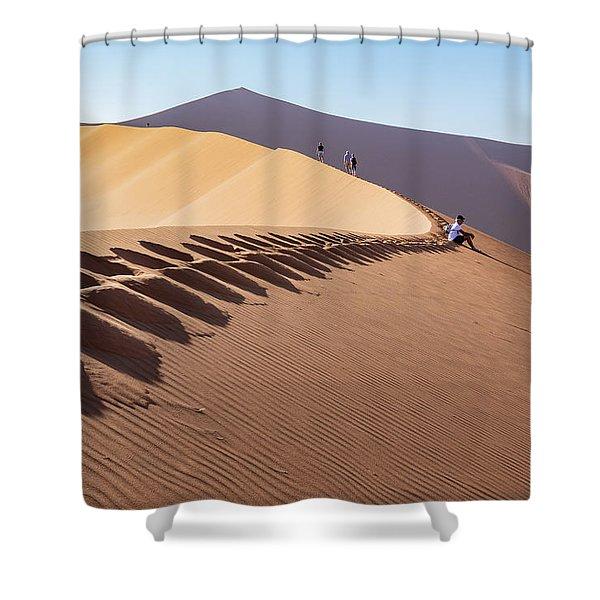 Sossusvlei Desert Shower Curtain
