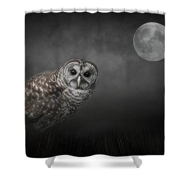 Soul Of The Moon Shower Curtain