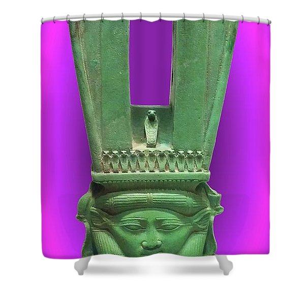 Sound Machine Of The Goddess Shower Curtain
