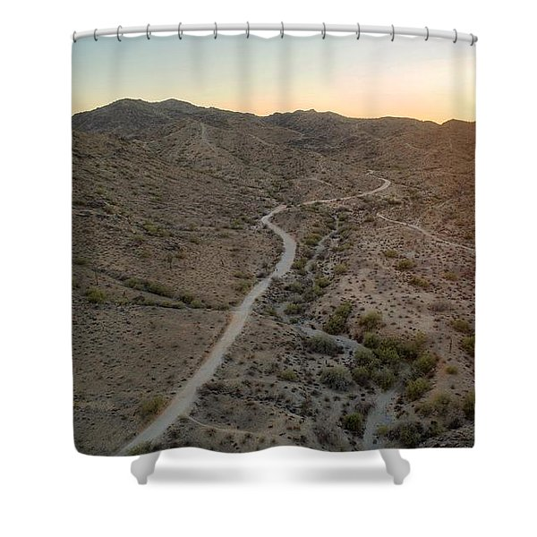 South Mountain Canyon Shower Curtain