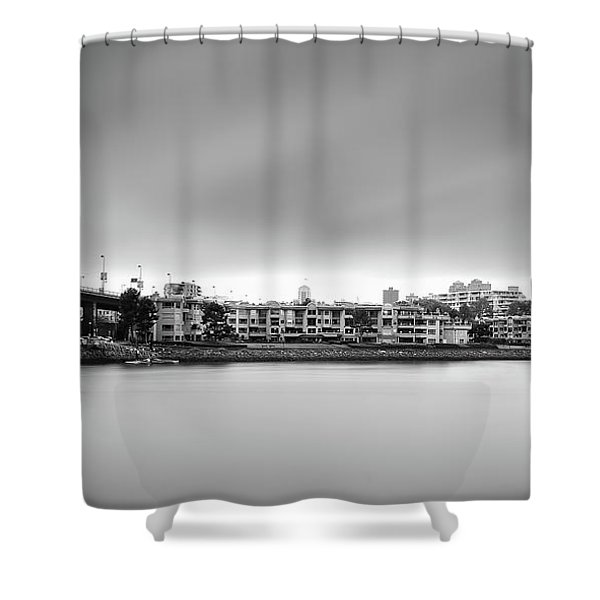 Venice Court, Vancouver Bc, Canada Shower Curtain