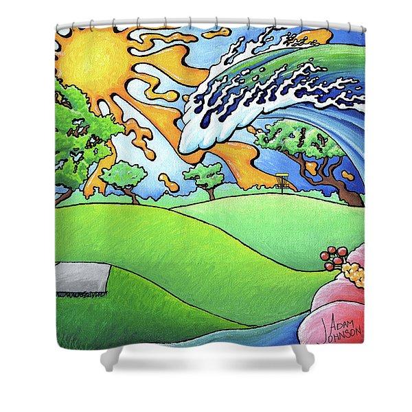South Texas Disc Golf Shower Curtain