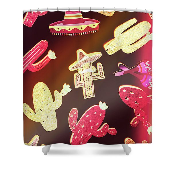 Southern Flavors  Shower Curtain