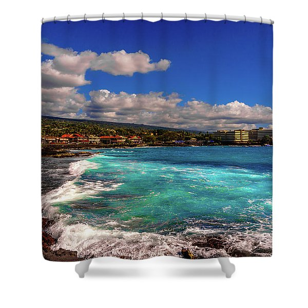 Southern View Of The Shore Shower Curtain