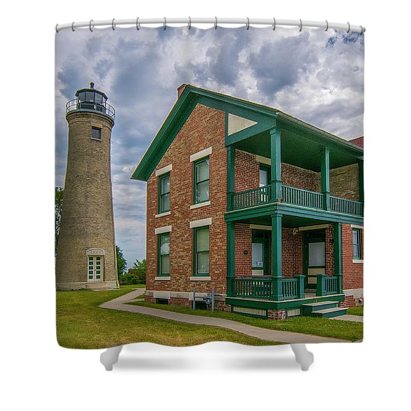 Southport Lighthouse  Shower Curtain