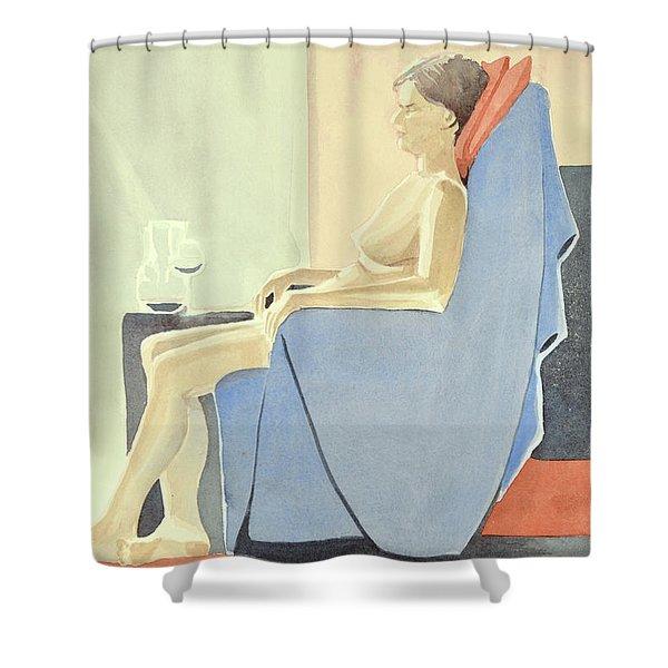 Sovande Sittande Sitting Asleep 2013 06 15-16_0091 4 Mb Up To 61x91 Cm  Shower Curtain