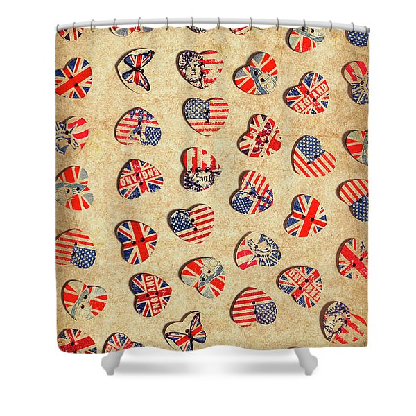 Sovereign State Sentiments Shower Curtain