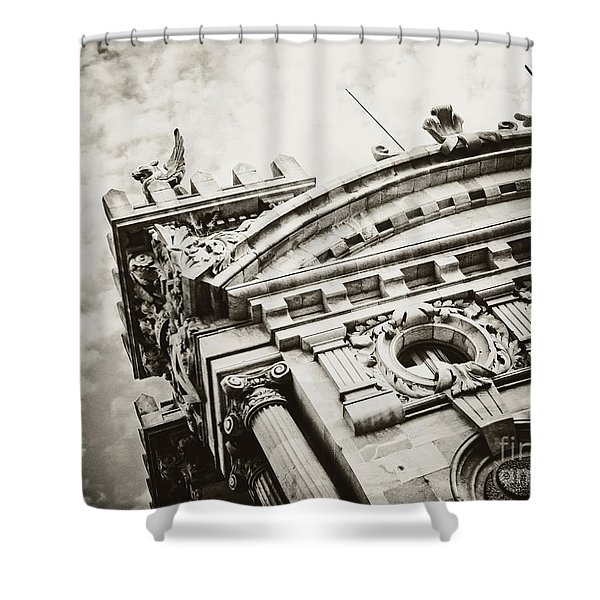 Spanish Architecture Shower Curtain