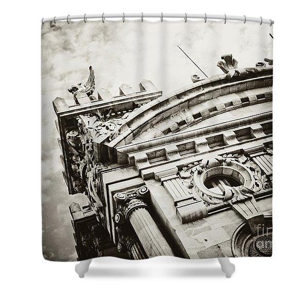 Spanish Architecture Shower Curtain