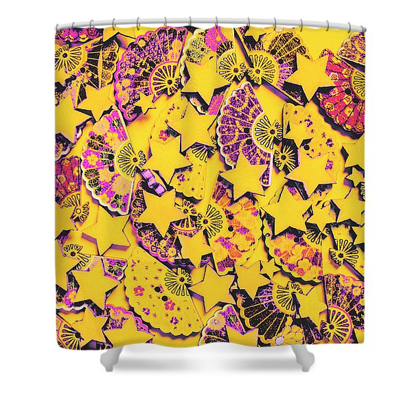 Spanish Flamenco Vision Shower Curtain