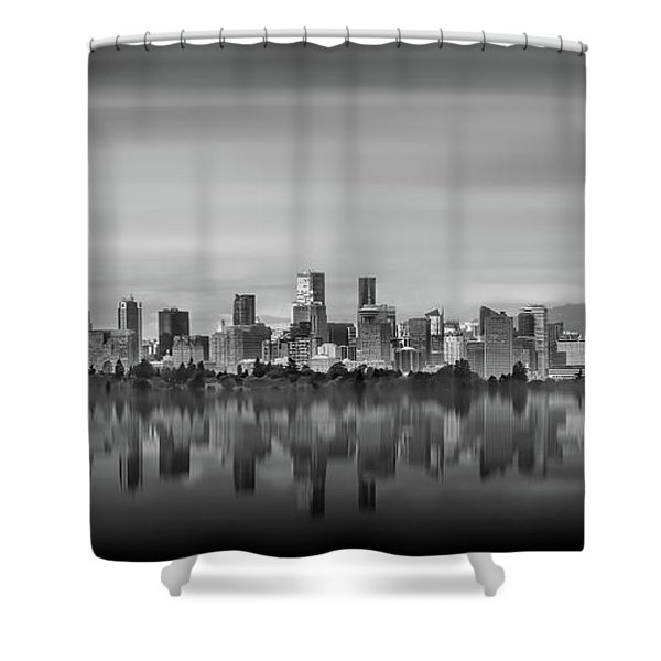 Special View Of Downtown Vancouver Shower Curtain