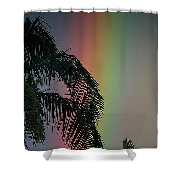 Spectral Nights Shower Curtain