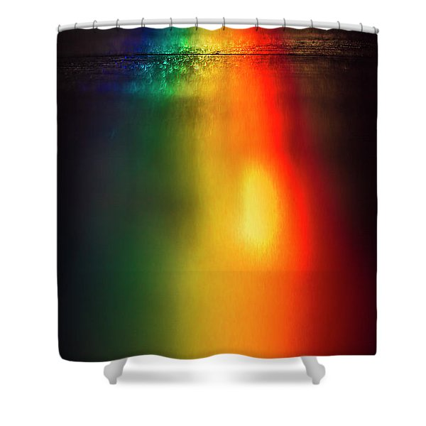 Spectrum Shower Curtain