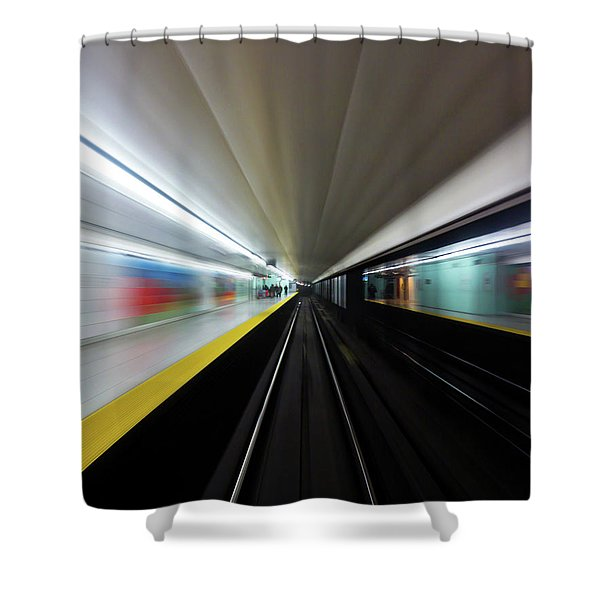Speed 2 Shower Curtain