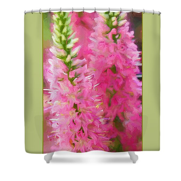 Speedwell Degas Style Shower Curtain