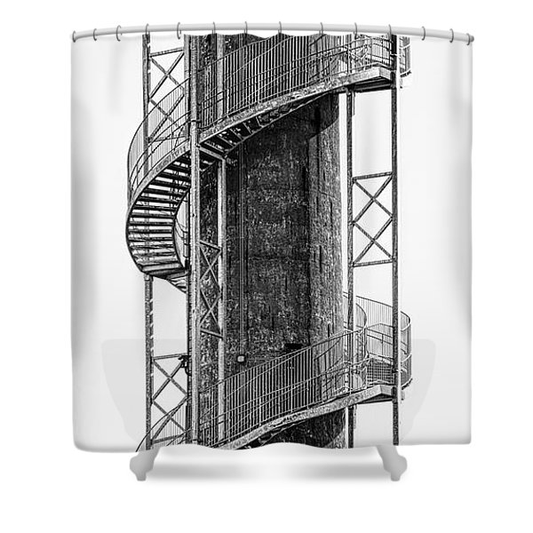 Spiral Staircase Shower Curtain