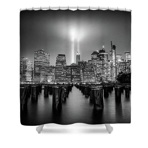Spirit Of New York Shower Curtain