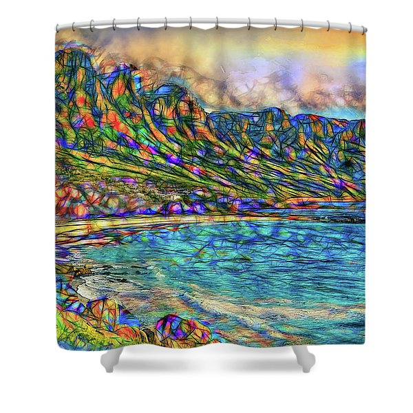 Spirit Of The Twelve Apostles  Shower Curtain
