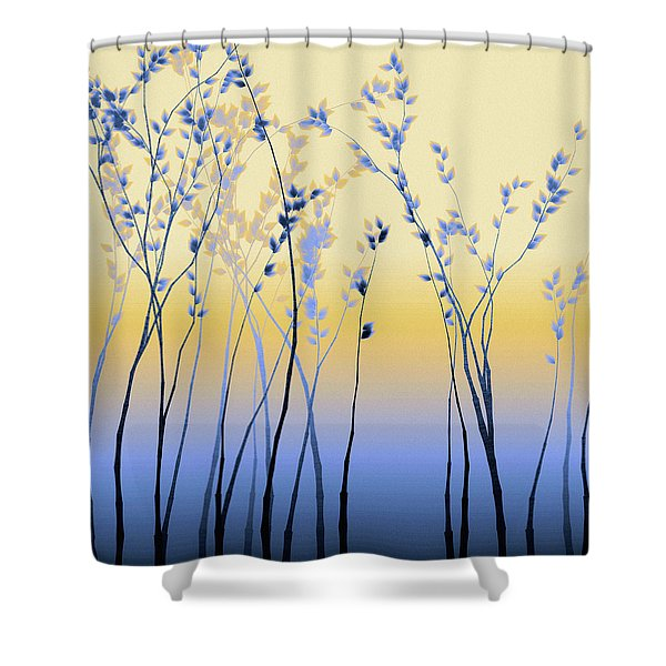 Spring Aspen Shower Curtain