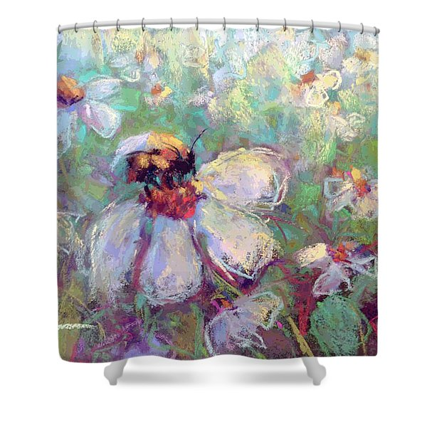 Spring Bee Shower Curtain