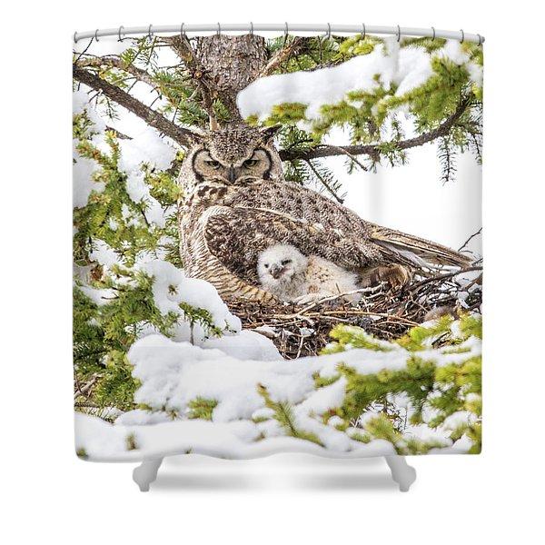 Spring Caregiver Shower Curtain
