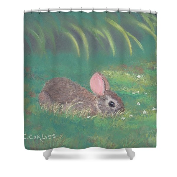 Spring Clover Shower Curtain