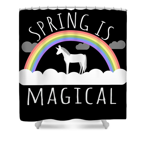Spring Is Magical Shower Curtain