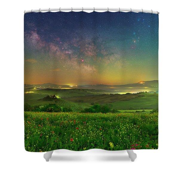 Spring Memories Shower Curtain