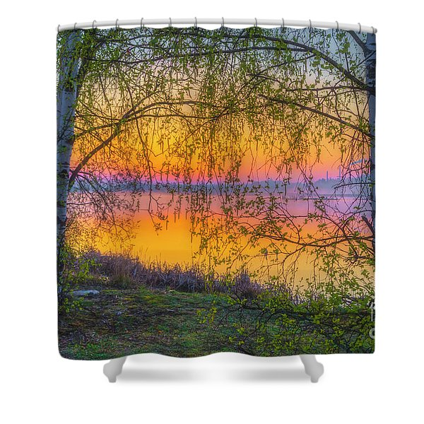 Spring Morning At 5.43 Shower Curtain