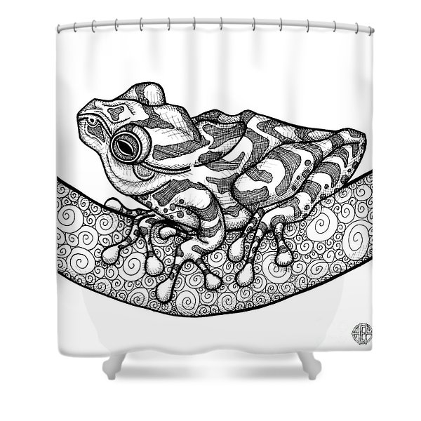 Spring Peeper Shower Curtain