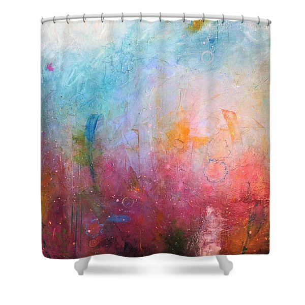 Spring Swing Shower Curtain