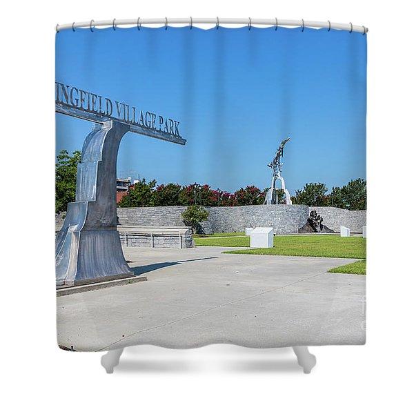 Springfield Village Park - Augusta Ga Shower Curtain