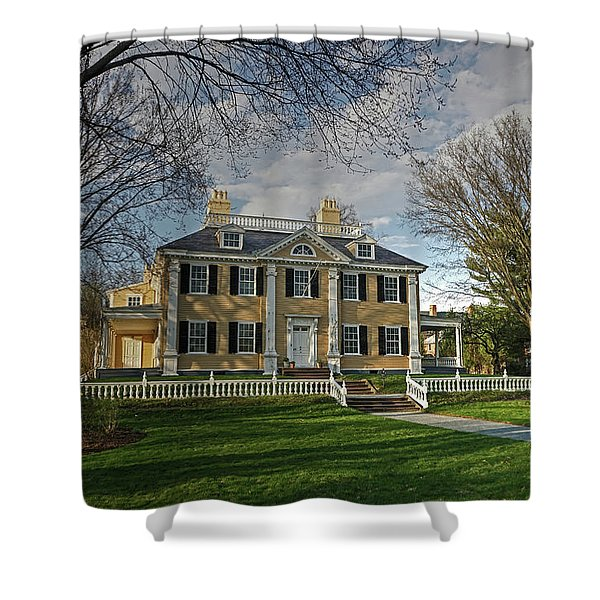 Springtime At Longfellow House Shower Curtain