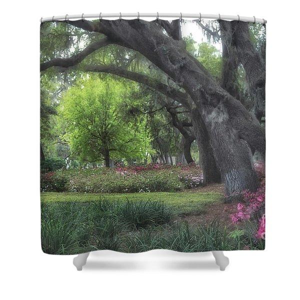 Springtime In The Park Shower Curtain