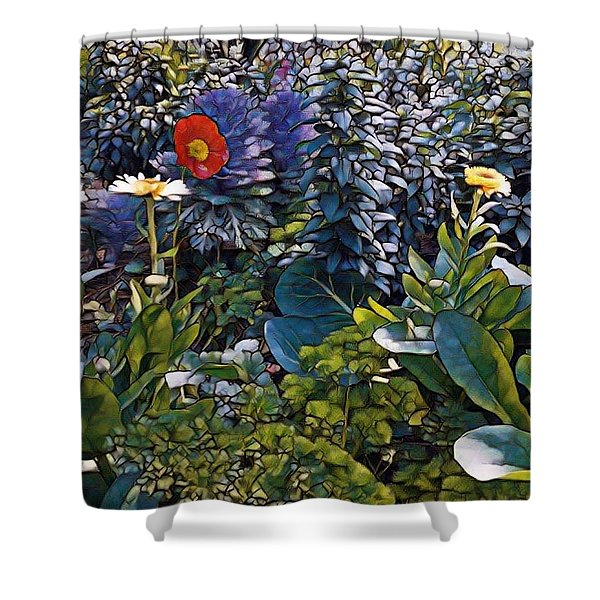 Sprint Into Spring Shower Curtain