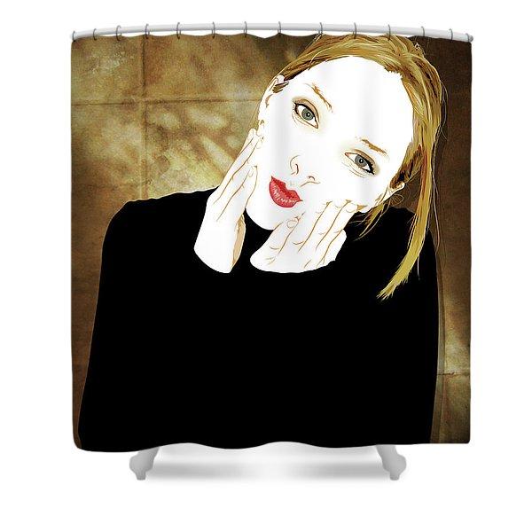 Squishyface Shower Curtain