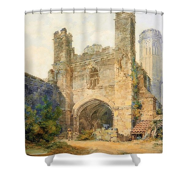 St. Augustines Gate, Canterbury - Digital Remastered Edition Shower Curtain