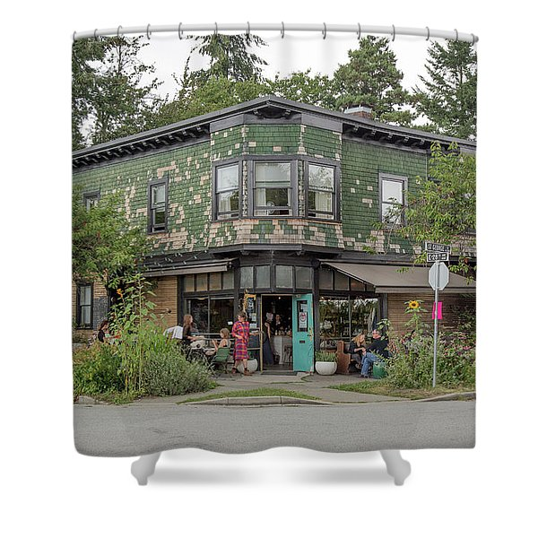 Shower Curtain featuring the photograph St George St. And E 28th by Juan Contreras