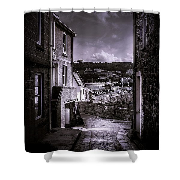 St Ives Street Shower Curtain