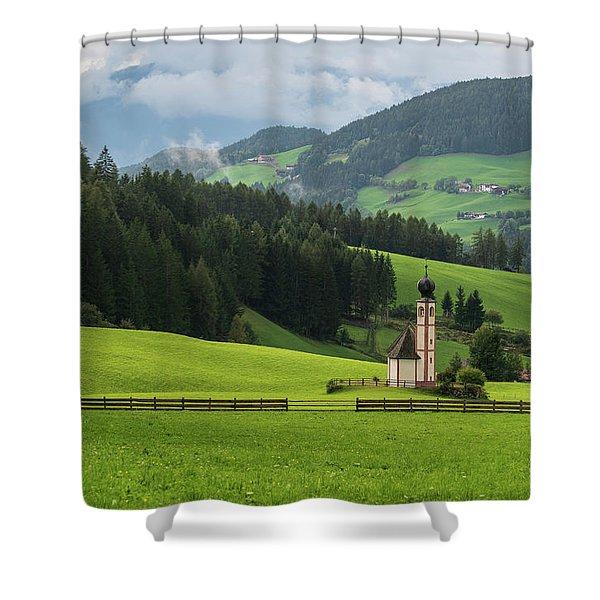 St Johann From The East Shower Curtain