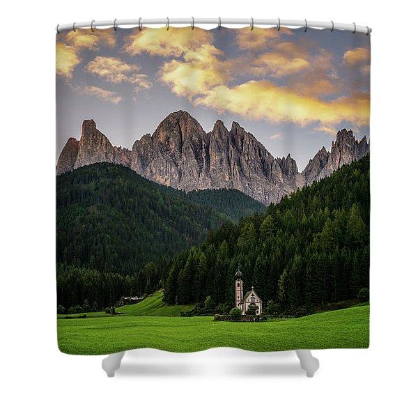 St Johann Sunrise Shower Curtain