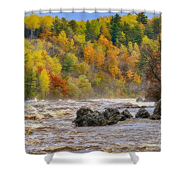 St. Louis River At Jay Cooke Shower Curtain