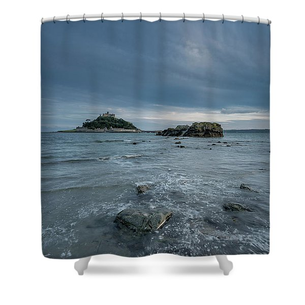 St Michael's Mount - Marazion - Cornwall Shower Curtain