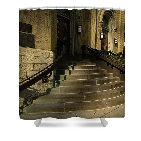 St Pete's Catholic Church Shower Curtain