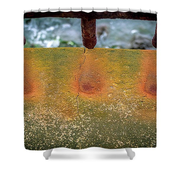 Stains Shower Curtain
